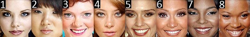 Please select your face shape: